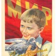 Pioneer boy with pigeon may day 1 — Stock Photo #75564829