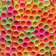 Macro of Colourful Drinking Straws — Stock Photo #62219975