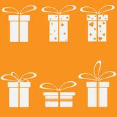 Vector Gift Box,Holiday Presents — Stock Vector