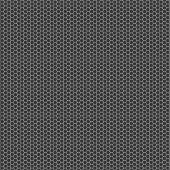 Texture background - black metal surface square perforated. — Stock Vector