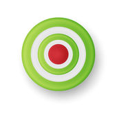 Vector illustration of target — Stockvector