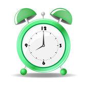Vector illustration of alarm clock — Stock Vector