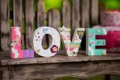 Cartas de amor — Foto Stock