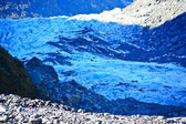 Fox Glacier, New Zealand. — Stock Photo
