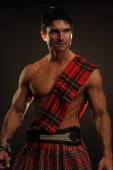 Sultry highlander — Stock Photo