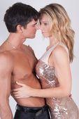 Sexy romance couple — Stock Photo