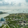 Fantastic Singapore view at Gardens by the Bay — Stock Photo #52520061