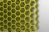 абстрактные геометрические мед клетки современный шаблон — Стоковое фото