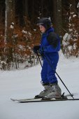 The skier — Stock Photo