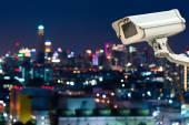 Cámara de Cctv o vigilancia con Canada — Foto de Stock