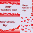 Abstract Valentines Day background with hearts. Place for copy or text — Stock Photo #62280223