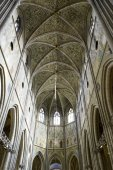 UPPSALA, SWEDEN - AUG 23,2014:Cathedral dates back to late 13th  — Stock Photo