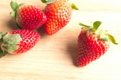 Appetizing strawberry — Stock Photo
