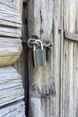 Clouse up door lock — Stock Photo