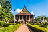 Haw Pha Kaeo or (wat Pha Kaeo) in Vientiane Laos , They are publ — Stock fotografie
