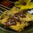 Moo satay, vepřové saté, thajské kuchyně stále život — Stock fotografie #75224643