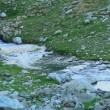 Mountain stream flowing over the rocks — Stock Video #57080505