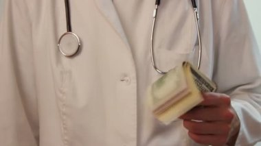 Corrupt health care system — Stock Video