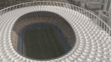 Panoramic view of stadium — Vídeo stock