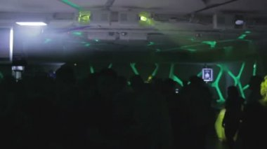 Party at nightclub — Stock Video