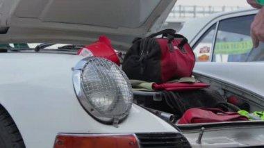 Porsche 911 classic 1963 — Stock Video