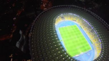 Vista dello stadio di calcio — Video Stock