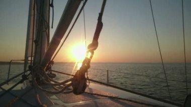 Breathtaking sunrise on horizon, start of new day, hopes for future, challenge — Stock Video