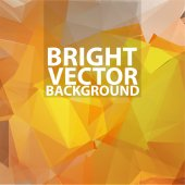 Abstract background in the style of cubism. Vector background — Stock Vector