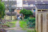 Central neighborhood in Milton Keynes, England, UK — Stock Photo