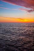 Beautiful sunset sky — Stock Photo