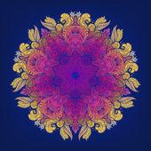 Mandala. alte Runde Muster — Stockvektor