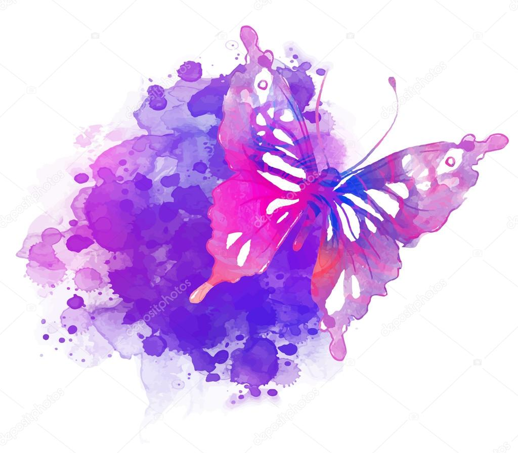 Watercolor Butterfly Wallpaper Pictures To Pin On