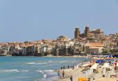 Cefalu, Sicily — Stock Photo