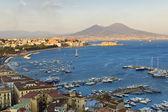 Panorama of Naples — Stock Photo