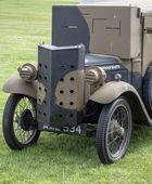 Light armoured car from WW2 — Stock Photo