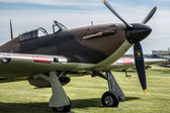 Hawker Hurricane I R4118  — Stock Photo