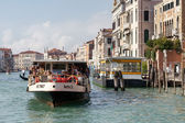 Vaporetto ferry in Venice — Stock Photo
