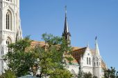 Matthias kościół budapeszt — Zdjęcie stockowe