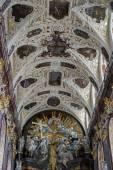Partial view Jasna Gora Monastery in Czestochowa Poland — Stockfoto