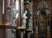 Partial view Jasna Gora Monastery in Czestochowa Poland — Stock Photo