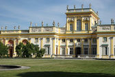 Wilanow Palace in Warsaw Poland — Stock fotografie