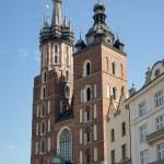 St Marys Basilica in Krakow — Stock Photo #57518045