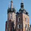 St Marys Basilica in Krakow — Stock Photo #57518165