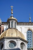 Wawel Cathedral in Krakow Poland — Stock Photo