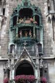 The Rathaus-Glockenspiel in Munich — Fotografia Stock