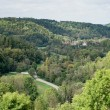 View over the countryside from Rothenburg — Stock Photo #57588303