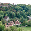 View over the countryside from Rothenburg — Stock Photo #57588471