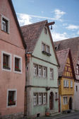 Colourful houses in Rothenburg — Stock Photo