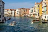 View down the Grand Canal Venice — Stock Photo