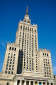 Palace of Culture and Science in Warsaw Poland — ストック写真